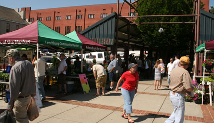 Lynchburg Community Market--Happy Birthday!