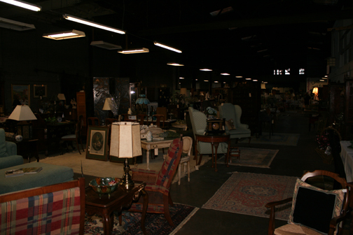 Warehouse full of treasures!