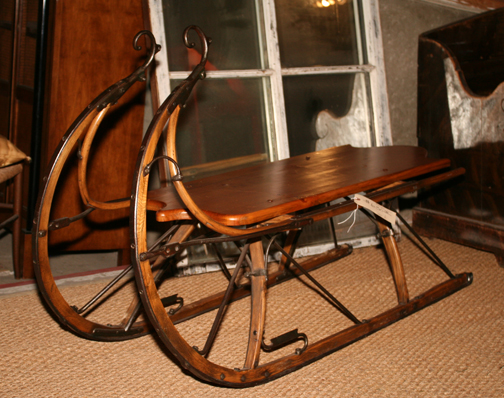 A great antique sleigh