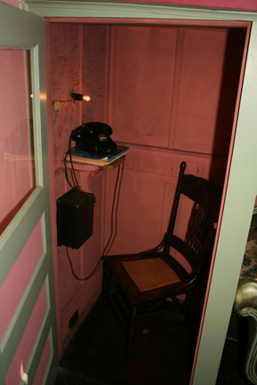 Anne Spencer's phone booth