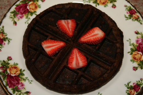 Chocolate Waffle recipe by The Carriage House Inn Bed and Breakfast