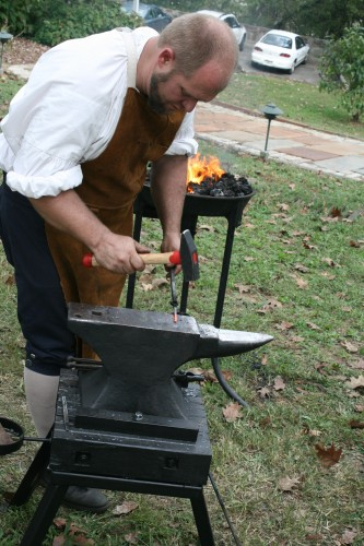 Blacksmith at Point of Honor