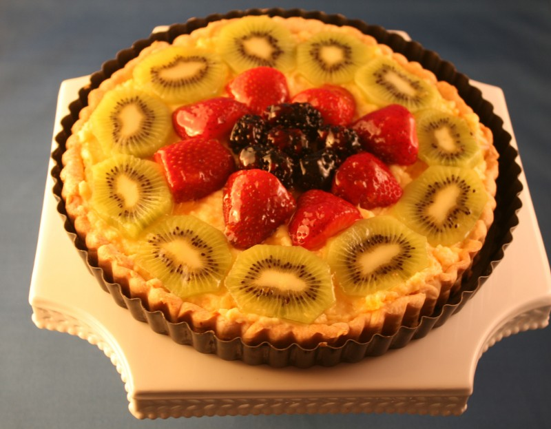 Our fresh fruit tart recipe is a bed and breakfast favorite