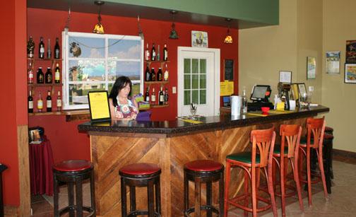 Lazy Days Winery tasting room