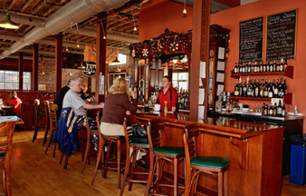 bar at The Depot Grille