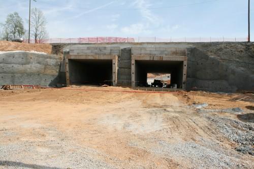 Tunnel at Liberty University
