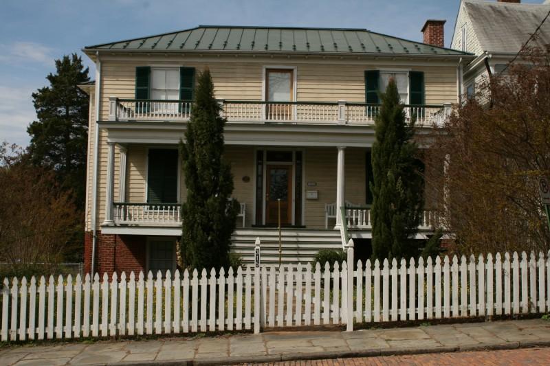 The Horner House--317 Cabell Street