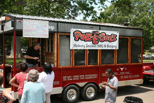 BBQ food truck on Food Truck Thursday