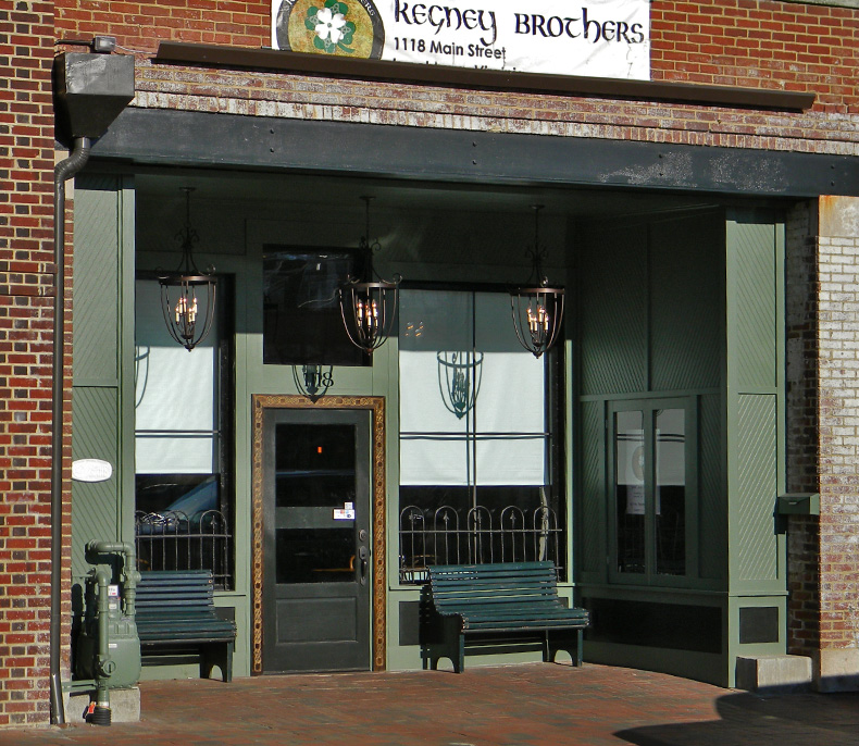 Kegney Brothers Pub on Main Street