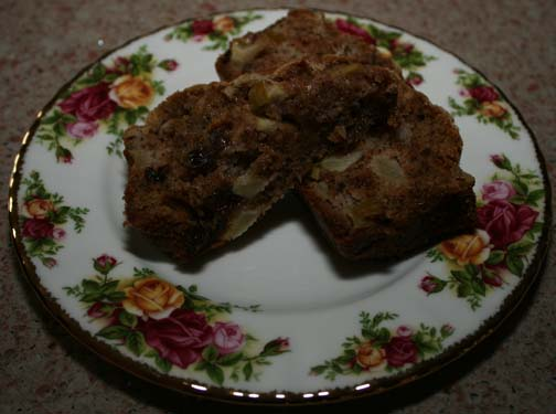 Enjoy our apple spice bread.
