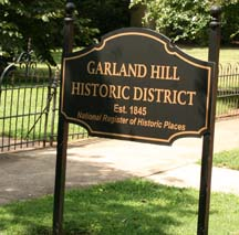 Ghost walk will be in the Garland Hills Historic District