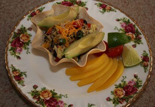 Breakfast Tortilla Bowl