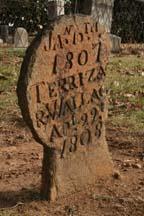 Gravestones in Old City Cemetery