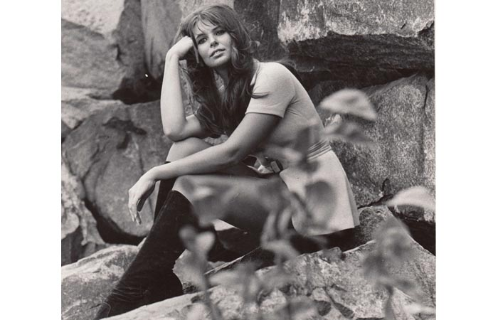 Toni - 1970's Promo Shot at Hook Mountain, Nyack -  Photographer Mike Hitzig