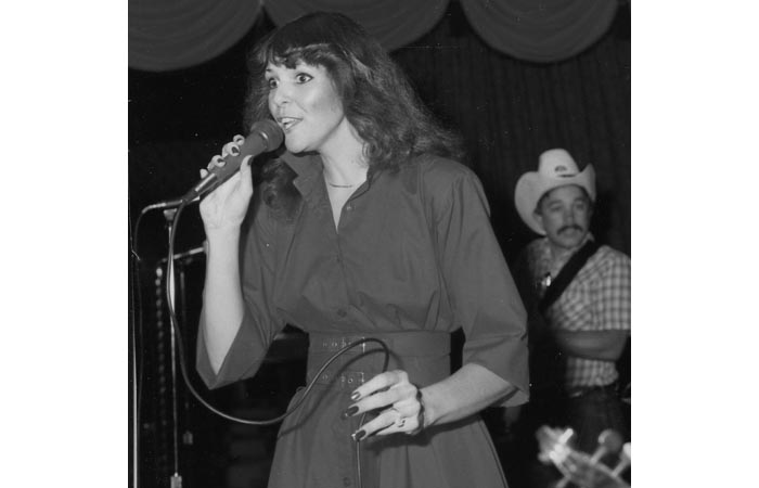 Toni -  Singing at Blue Ribbon Inn - 1980's