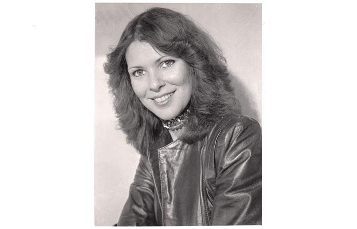 Toni - 1980's Promo shot by photographer Art Sarno