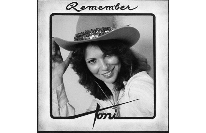 Toni - Record Jacket FRONT - 1980's - Photographer Artie Pomerantz