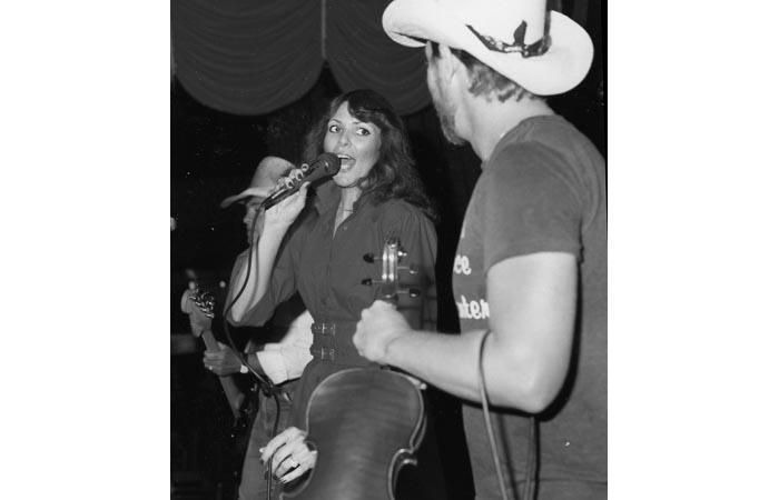 Toni - Singing at the Blue Ribbon Inn - 1980's