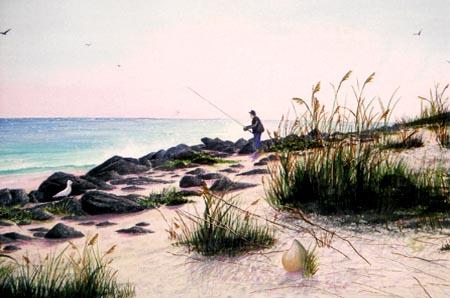 Toni - Artist / Coquina Beach in the Hammock, Florida