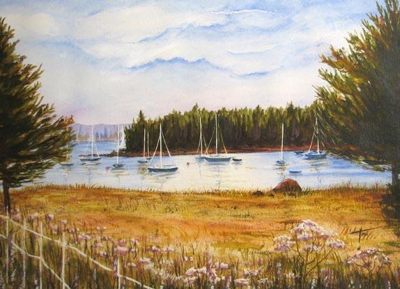 Toni - Artist / Anchorage at Center Harbor