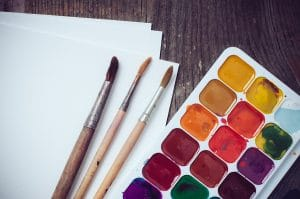 Artist Watercolor Paints
