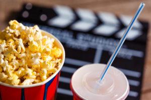 Film festival popcorn