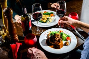 Romantic Dinner in Downtown Brattleboro