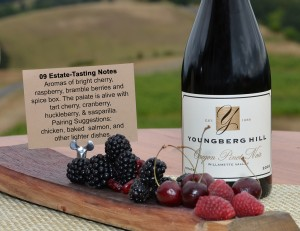 youngberg hill wine tasting notes
