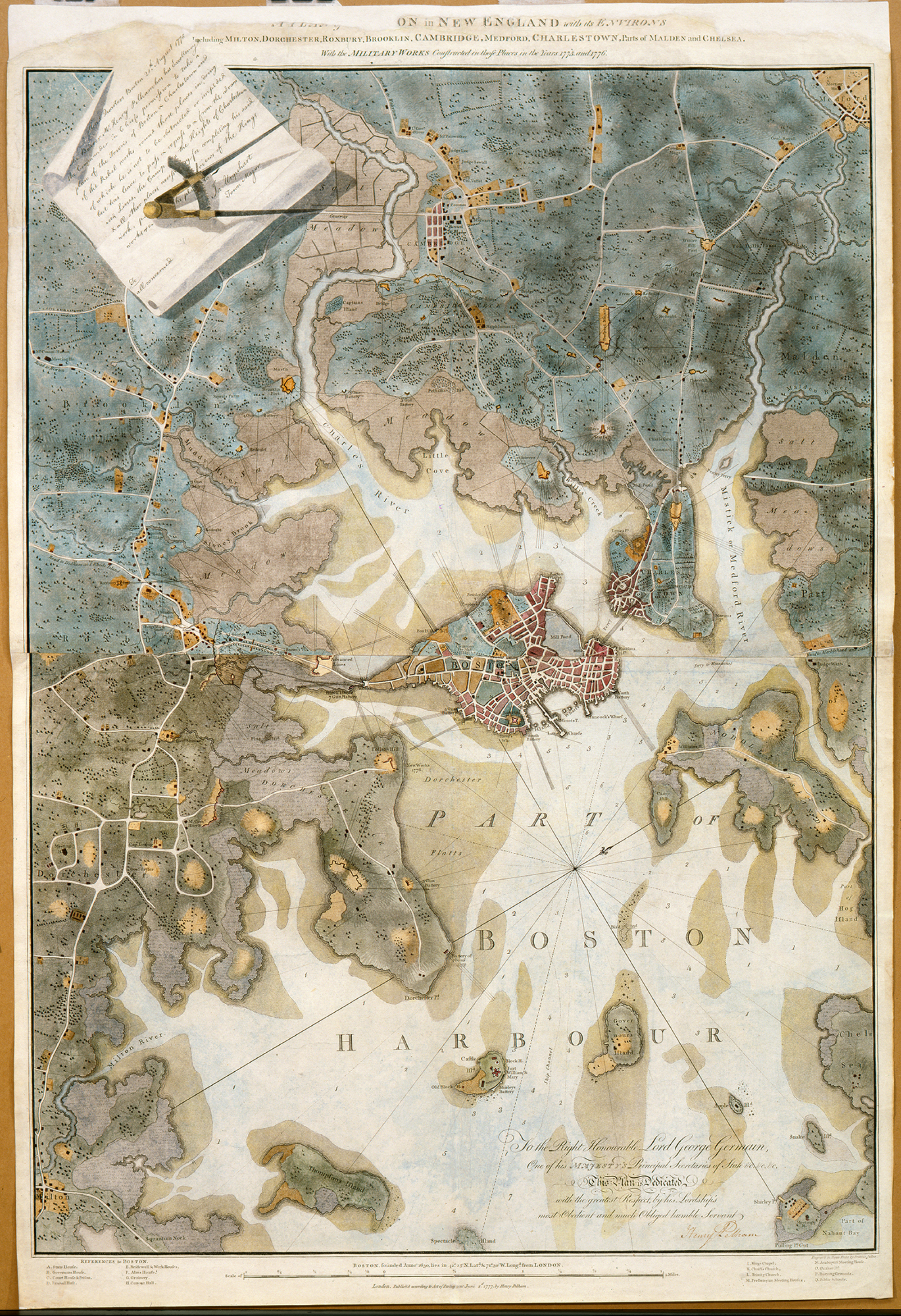 A plan of Boston in New England with its environs · George ... Map Of New England on map of long island 1776, map of north america 1776, map of nantucket 1776, map of manhattan 1776, map of africa 1776, map of germany 1776, map of great britain 1776, map of american colonies 1776, map of mexico 1776, map of united states 1776, map of texas 1776, map of dorchester heights 1776, map of california 1776, map of massachusetts 1776, map of philadelphia 1776, map of alaska 1776, map of canada 1776, map of russia 1776, map of trenton 1776, map of virginia 1776,