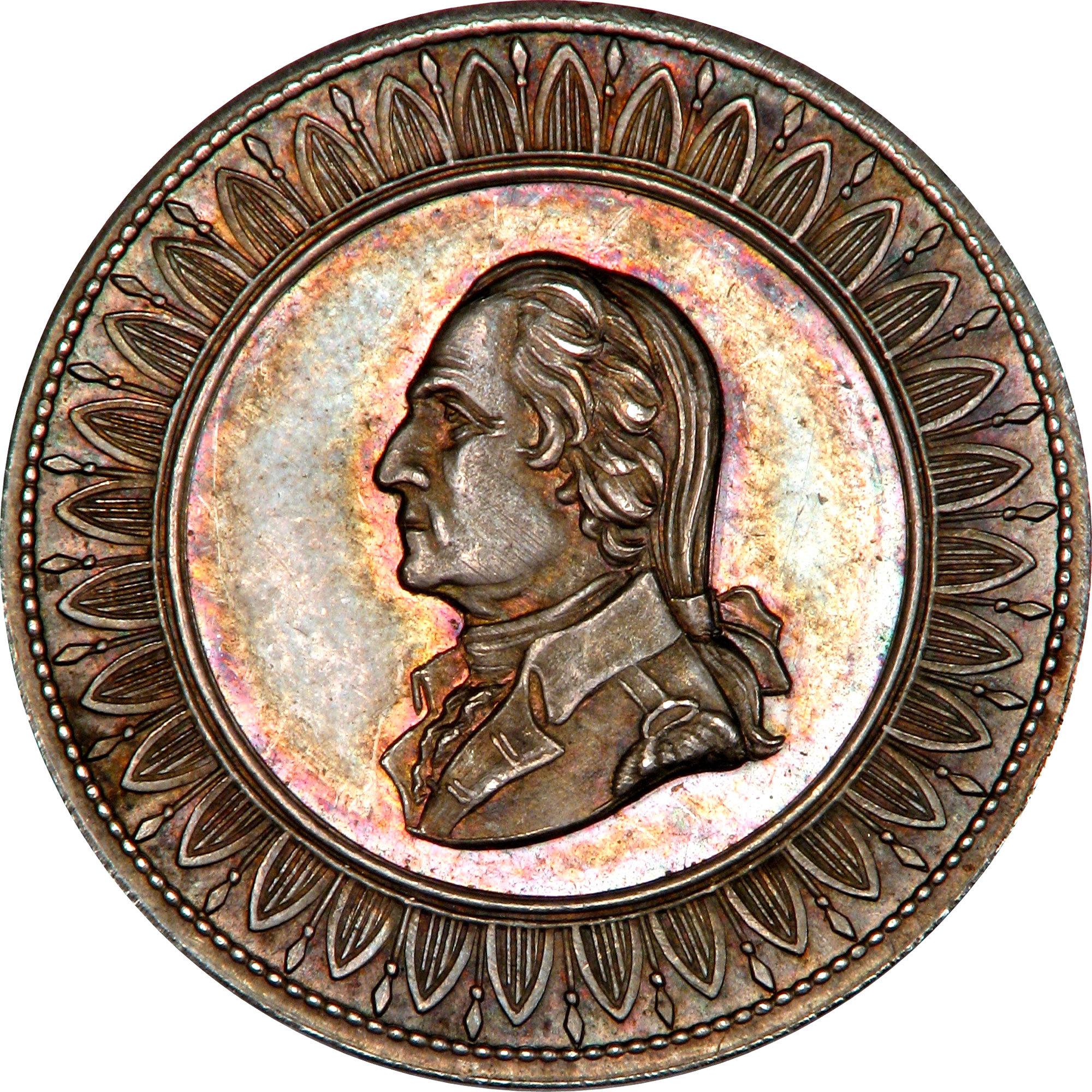 Dobbs Ferry medal · George Washington's Mount Vernon