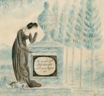From the Collection: Memorial Picture by Nelly Custis