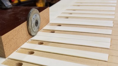 Will the reproduction harpsichord be an exact copy of George Washington's original?