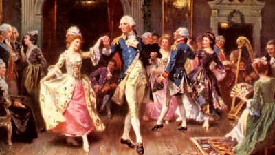 Washington was known as an energetic and excellent dancer.