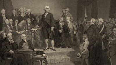 Washington's second inaugural address is the shortest ever delivered.
