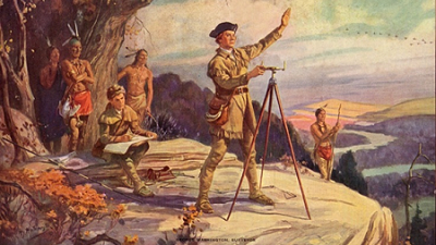 George Washington learned to be a surveyor at age 16.