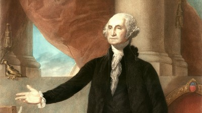 Washington was unanimously elected President of the United States. Twice.