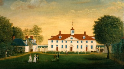 Washington inherited Mount Vernon in 1761.