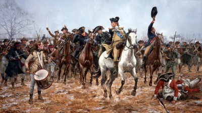 Washington had many close calls, but was never seriously wounded in battle.