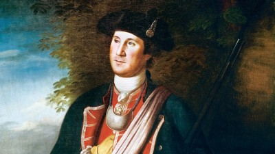 In 1754,  Maj. Washington led an attack that started a world war.