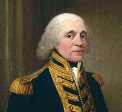 Admiral Lord Richard Howe