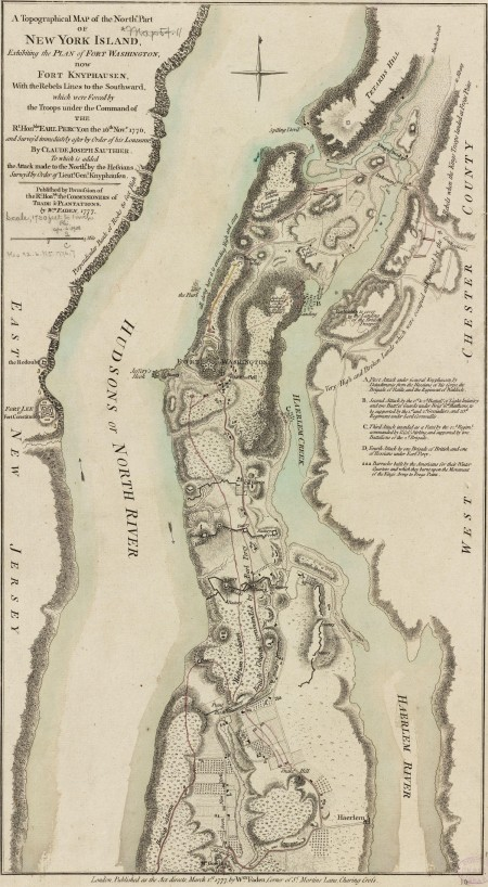 Battle of Fort Washington
