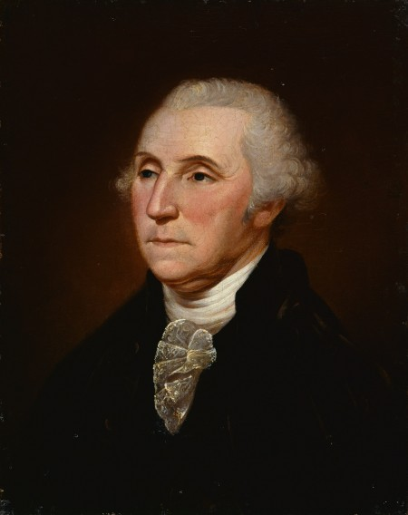 Portrait by Charles Willson Peale c. 1795 (The New York Historical Society, New York)