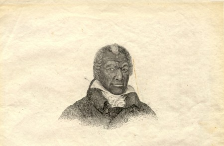 Portrait of James Armistead Lafayette by John Blennerhasset Martin, 1784. Courtesy of David Bishop Skillman Library, Lafayette College.