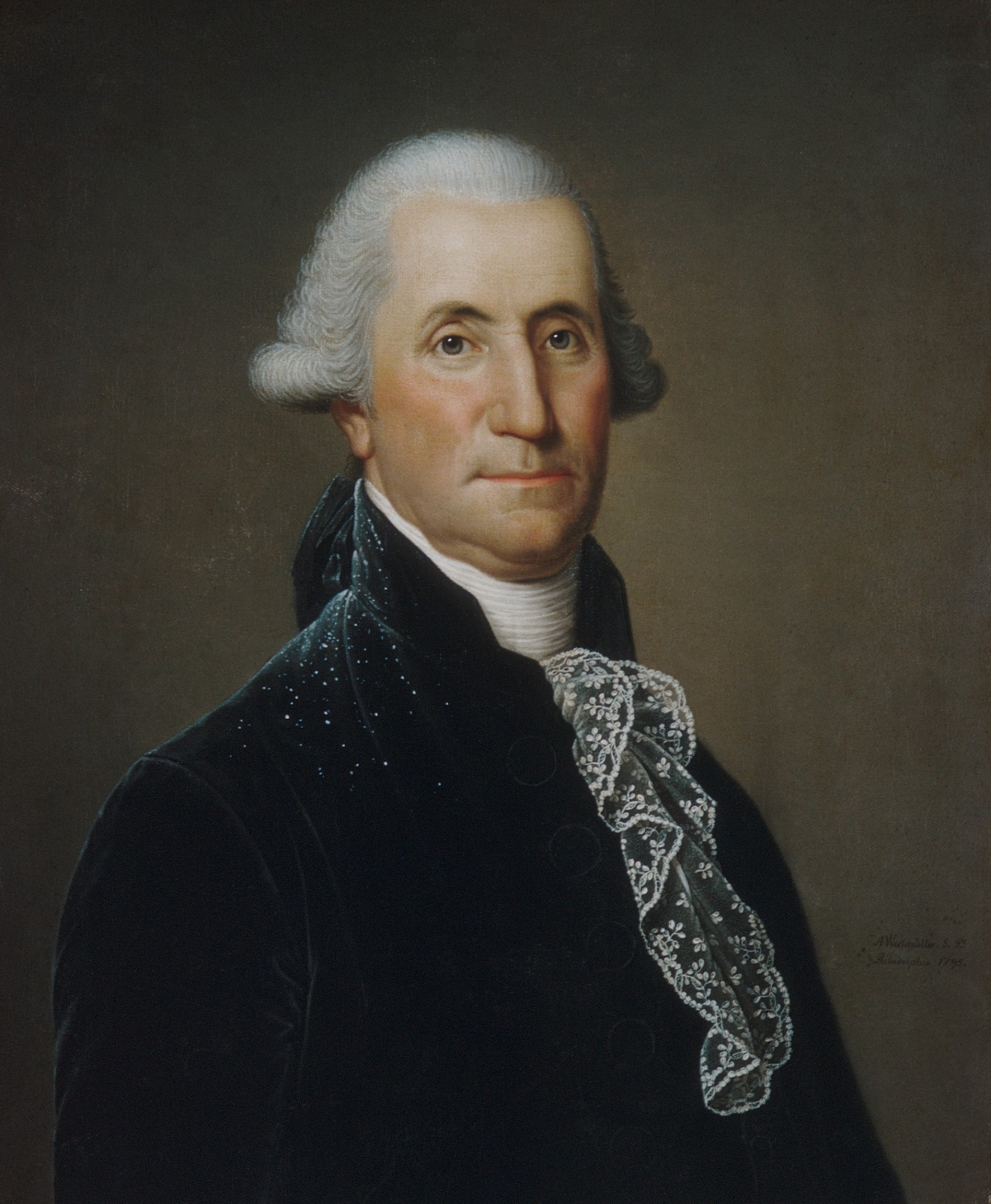 Life Portraits of George Washington · George Washington's ...