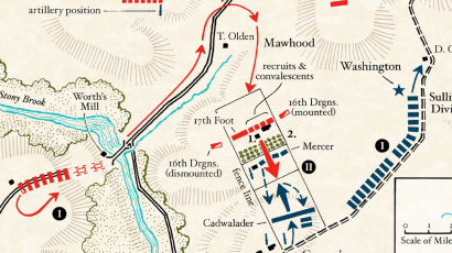 Battle of Princeton, Phases I and II