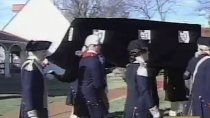 Reenactment of George Washington's Funeral