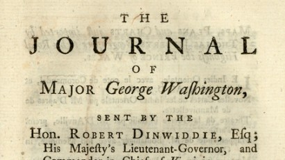 biography of george washington · george washington s mount vernon journal of maj george washington