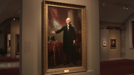 Watch the history of Gilbert Stuart's painting as told by Dorothy Moss, Associate Curator at the National Portrait Gallery, Smithsonian Institution