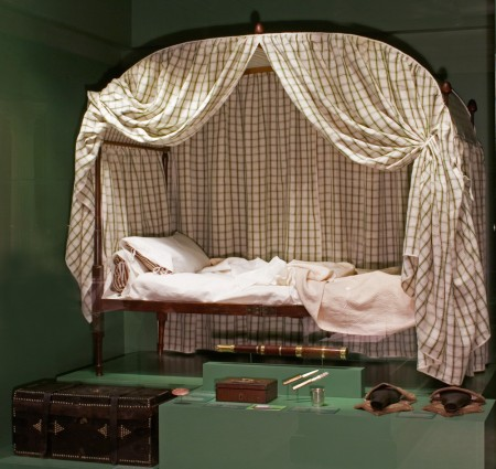 Washington's field bedstead (Robert Creamer)