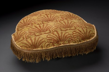 Cushion made by Martha Washington (Mark Finkenstaedt)